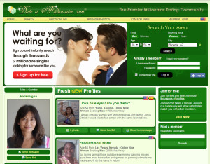 milonaire dating website