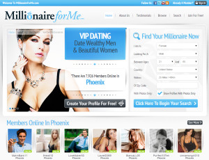 Dating for millionaires